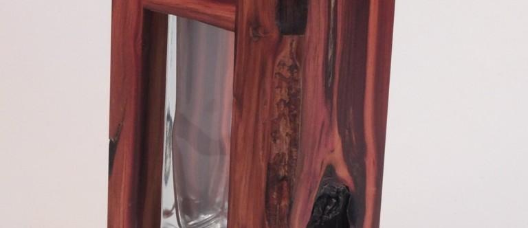 Holzvasen